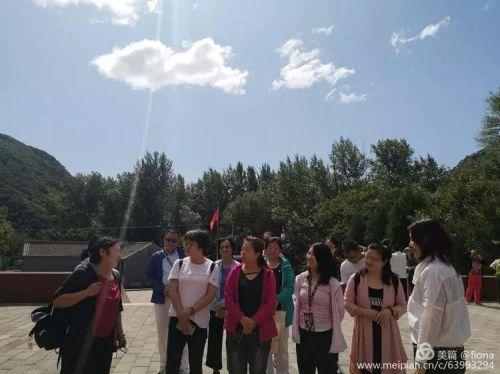 感受革命传统 追寻红色印记:中发党支部组织怀柔庙上村主题参观活动4