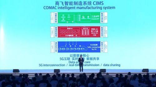 商飞智能制造系统:民用飞机制造5G创新示范应用