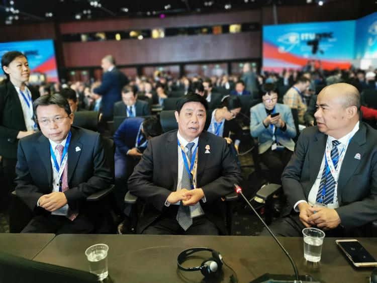 2019年世界无线电通信大会开幕 张峰率中国代表团出席