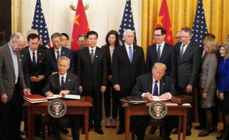 央行:中美第一阶段经贸协议,有关金融服务章节的情况说明0