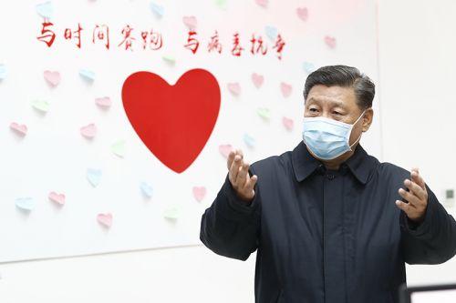 习近平:坚决打赢疫情防控的人民战争、总体战、阻击战
