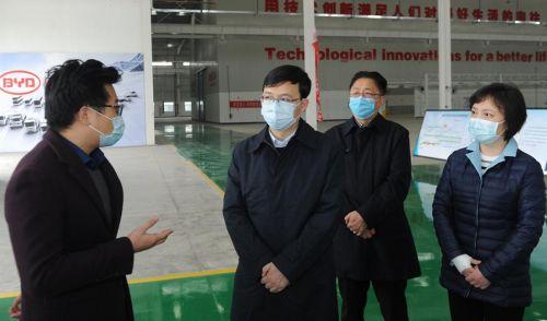 陈之常调研淮安工业园区:更好地发挥园区经济建设的主战场作用