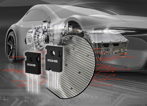 ROHM开发出业界先进的第4代低导通电阻SiC MOSFET ~可加快车载主机逆变器等的普及速度~0