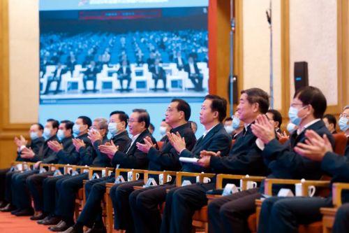 李克强出席全国大众创业万众创新活动周启动仪式0