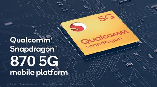 骁龙870 5G移动平台问市,带来更出色的游戏体验0