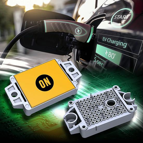 安森美半导体在APEC 2021发布新的用于电动车充电的完整碳化硅MOSFET模块方案